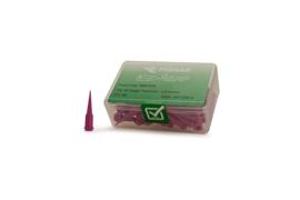 8001276 doseernaald 30ga conisch, lavendel, dia 0,15mm