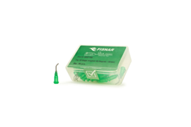 8001158 doseernaald 18ga  45° naald, groen, dia 0,84mm