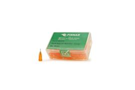 8001079 doseernaald 23ga, naaldlengte 6,35mm, oranje, dia 0,33mm