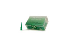 8001271 doseernaald 18ga conisch,  groen, dia 0,84mm