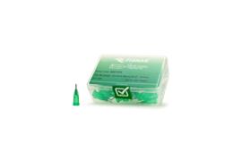 8001075 doseernaald 18ga, naaldlengte 6,35mm, groen, dia 0,84mm