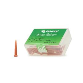 8001220 doseernaald 15ga conisch, amber, dia 1,37mm
