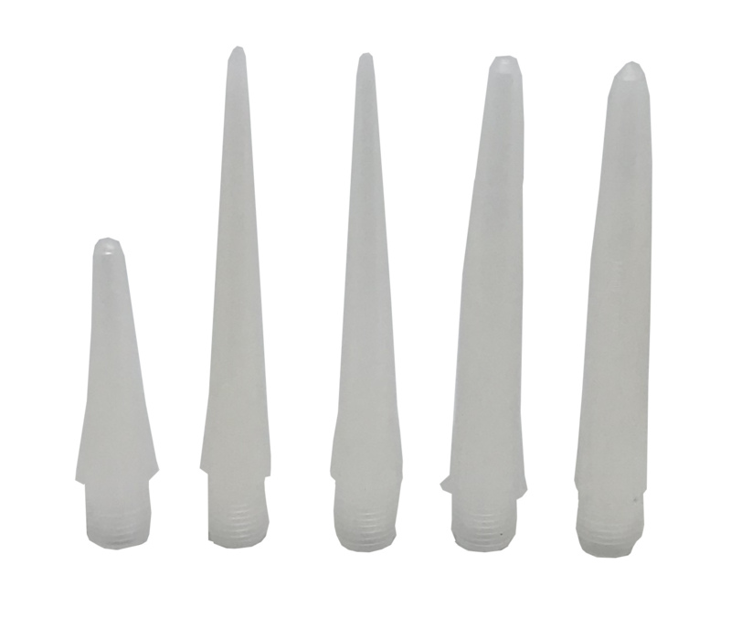 EA4180-LD Standard Nozzle LDPE 1/4NPT 10,2 cm lang, gat 3,2mm 10 stuks