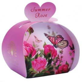 Gastenzeepjes Summer Rose - The English Soap Company
