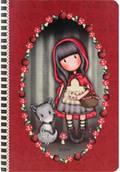 A5 notitieboek Little Red Riding Hood -  Gorjuss - Santoro London
