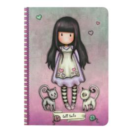 A5 notitieboek Tall Tails -  Gorjuss - Santoro London