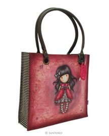 Coated shopper Ladybird -  Gorjuss - Santoro London