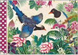 Geïllustreerd Notebook Les oiseaux - Gwenaëlle Trolez Créations