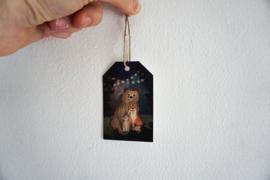 Cadeaulabelset Bosdieren - Lotte Drouen