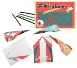 Knutselpakket origami vliegtuigjes