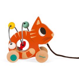 Mini looping-trekdier poes