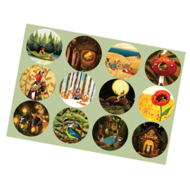 Stickervel sluitzegels - Esther Bennink