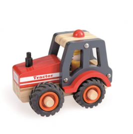 Houten tractor - Egmont Toys