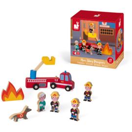Mini story brandweer