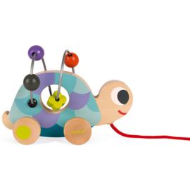 Mini looping-trekdier schildpad