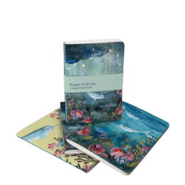 Set A6 notitieboekjes Sea Dreams - Roger la Borde