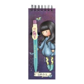 Aantekenboekje met Pen Bubble Fairy -  Gorjuss - Santoro London