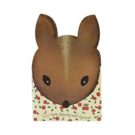 Mini Notebook  Eekhoorn  Poppi Loves