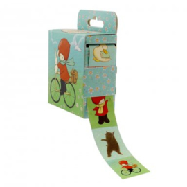 Doosje met stickers Cycling - Poppi Loves - Santoro London