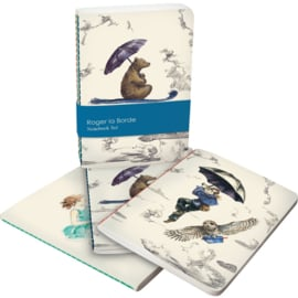 Set A6 notitieboekjes Mondoodle - Roger la Borde