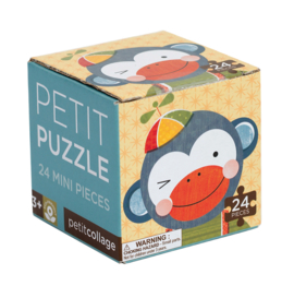 Mini puzzel Funny Animal, Aap