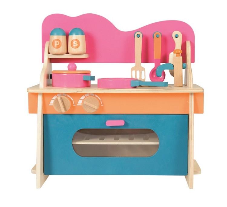 Houten keukentje - Egmont Toys