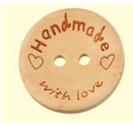 Handmade with love knoop 20mm