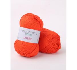 Coton 3 Vermillon 2033