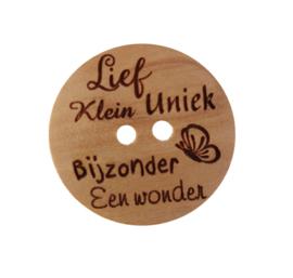 Een Wonder Knoop 25mm