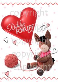 Set 5 kaarten: Ezel Elliott 'Dikke Knuff!'