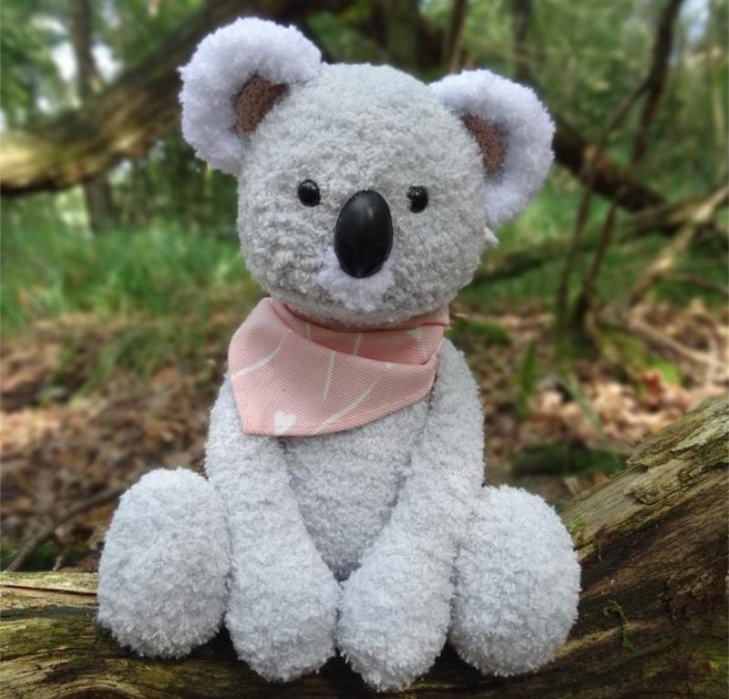 Haakpatroon koala Kiki