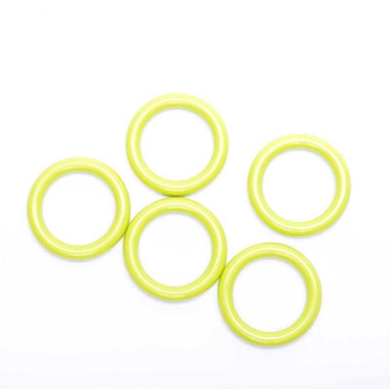 Plastic ringetjes 40mm - groen