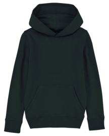 Black hooded sweater for the little one
