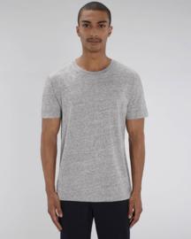 Marble slub heather grey t-shirt