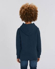 French Navy hooded sweater for the little one