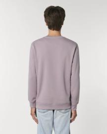 Lilac Petal Uniseks Sweater met ronde hals