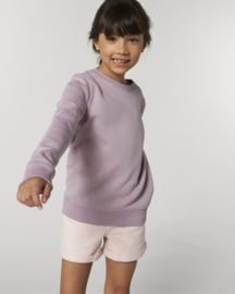 Lilac Petal capsule sweater for the little one