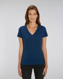 V-neck t-shirt for her