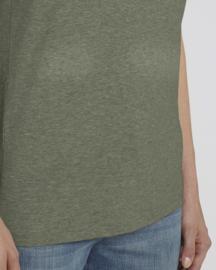 Mid Heather Khaki capsule t-shirt