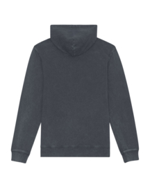 Hooded sweater Vintage Dyed India Ink