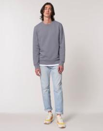 Lava Grey Uniseks Sweater met ronde hals