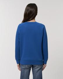 Majorelle Blue sweater for her