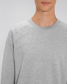 Heather Grey capsule sweater for him