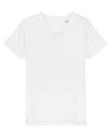 White t-shirt for the little ones