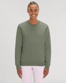Mid Heather Khahi Uniseks Sweater met ronde hals