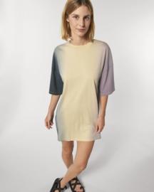 Dip Dye Lilac Petal T-shirtdress for her