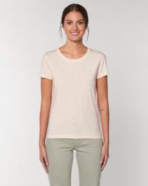 Ecru Neppy Mandarine t-shirt for her