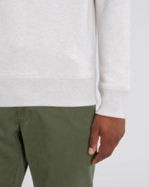 Cream Heather Grey capsule sweater for him