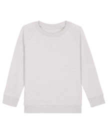 Cream Heather Grey sweater for the little one