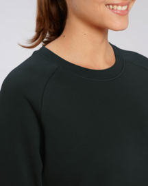 Black capsule sweater for her